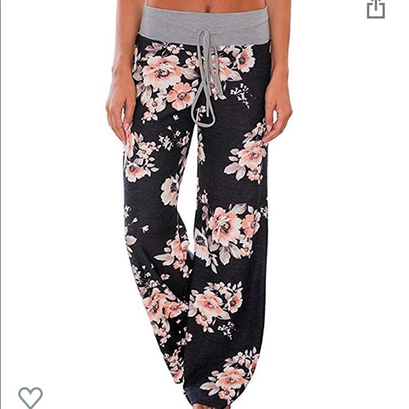 Other - Floral lounge pants